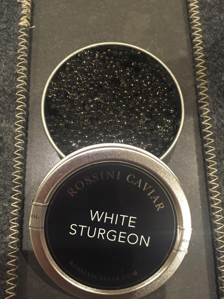 White Sturgeonキャビア