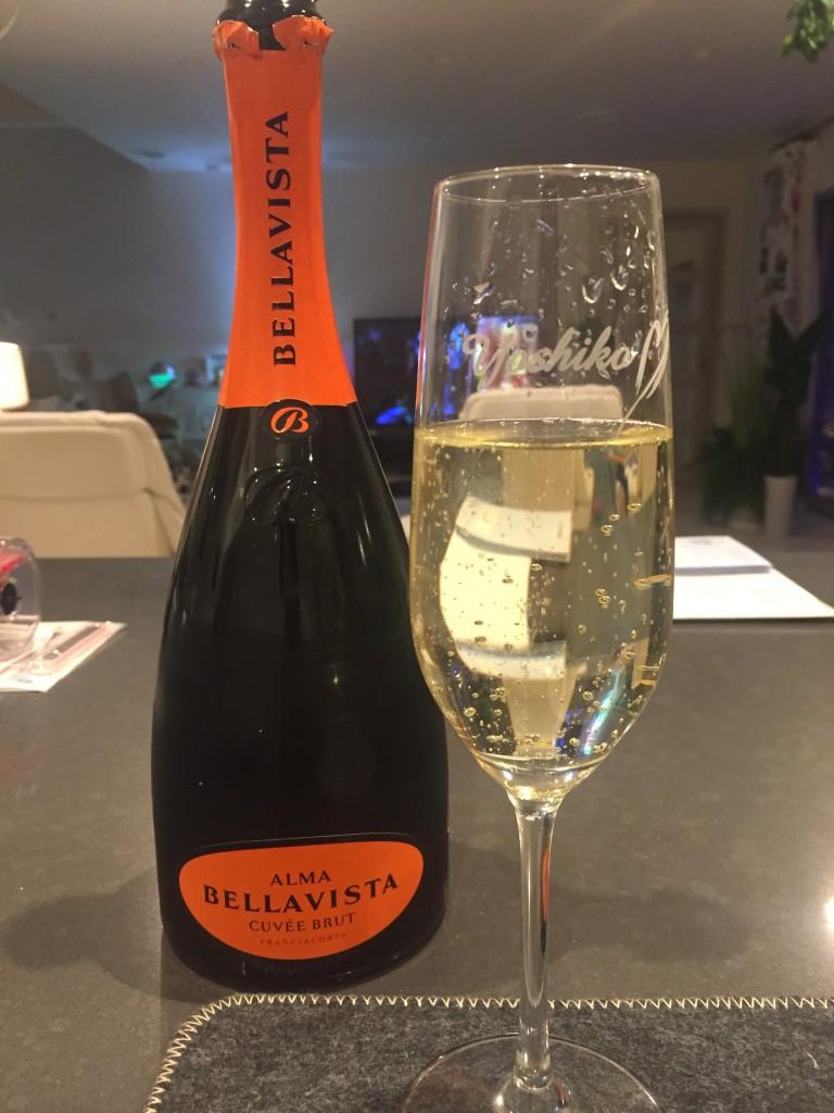 イタリア産のシャンパンと