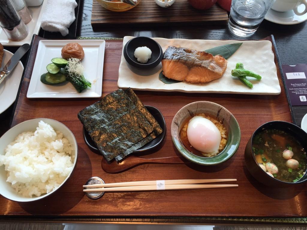 フォーシーズンズ丸の内の和朝食
