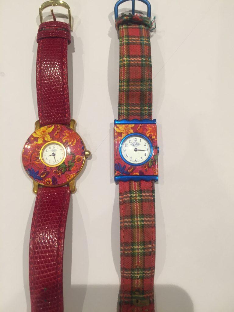 オイリリーの腕時計