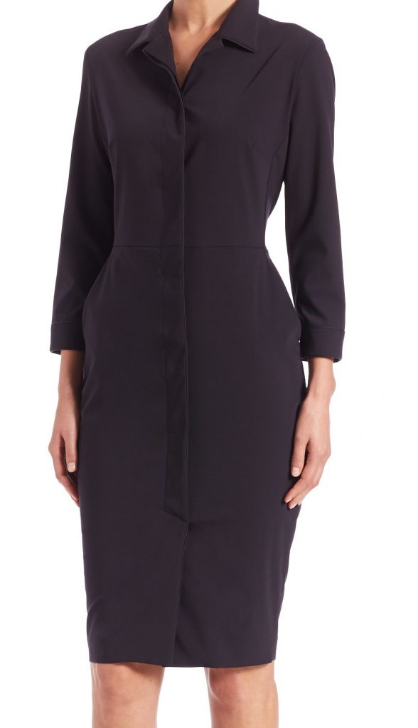 max-mara-black-zircone-long-sleeve-shirtdress-product-2-940911537-normal
